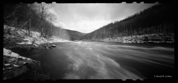 Late Winter Rapids, ©David Cerbone 2015