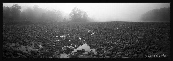 Low River Fog, ©David Cerbone 2015