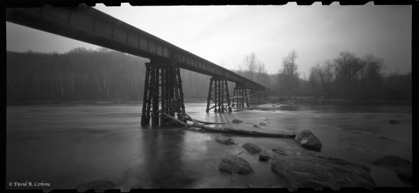 Railroad Bridge, ©David Cerbone 2015