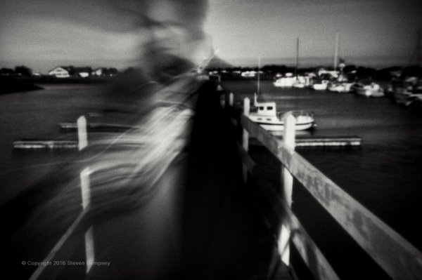 Self Portrait, Dock, ©Steven Dempsey 2016
