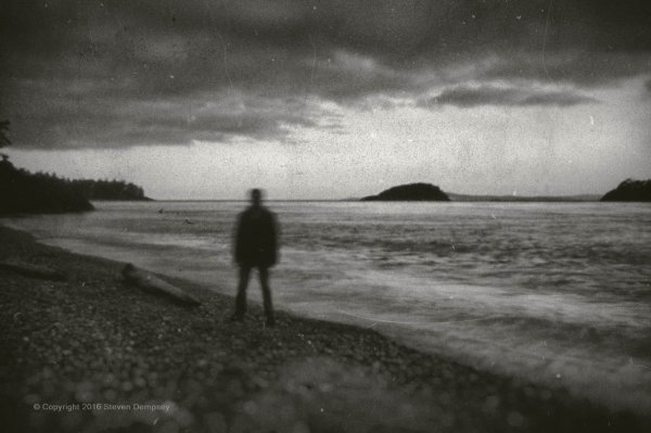 Sihlouette at the Water's Edge, ©Steven Dempsey 2016