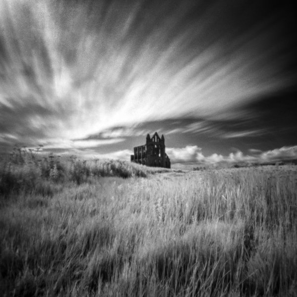 Whitby Abbey, Zero Image 2000, Rollie IR 400, ©Alastair Ross 2015