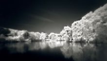 4x5 Pinhole  f175, L=35mm, <130 Diag. Photo location: H.Park, Ontario  Date:  June 2016 Film used: MACOPHOT-IR820c  Rated ISO 25 Exposure:  30 minutes  Filter.R72;  Lighting: None;  Neg. Development : APH09 1+100 for 15min In a Unicolor Rotary tank, cont. reversing; water wash; Neg.scanned  1200 dpi, RGB, spotted, duotone;  framed to size.